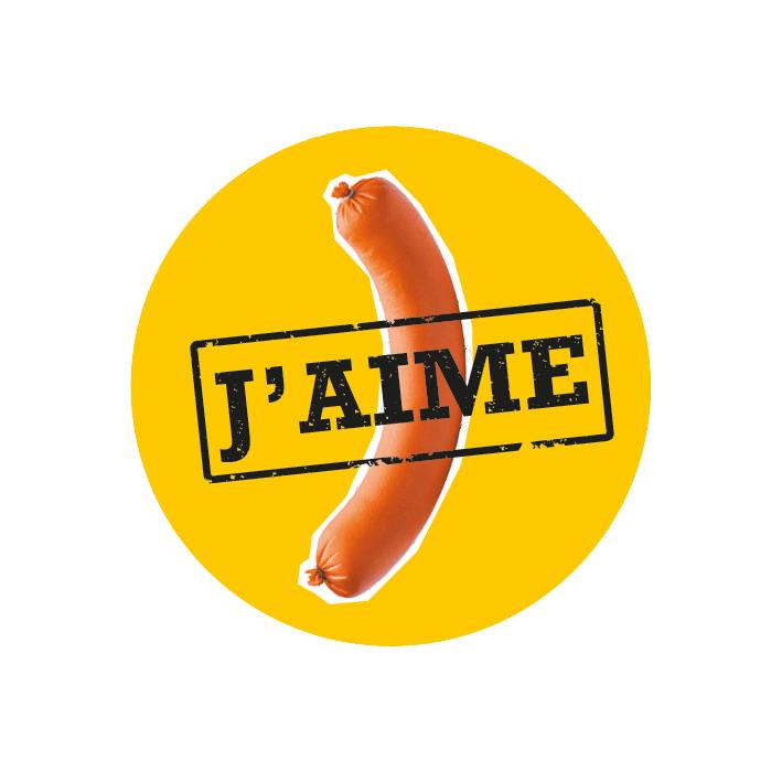 J'aime la saucisse – Le livre